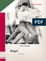 65863034 Astor Piazzola Sheet Music Angel Piano