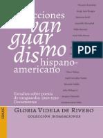 Direcciones Del Vanguardismo Hispanoamericano Estudios Sobre La Poesia de Vanguardia 1920 1930