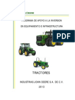 Lista de Precios de Tractores
