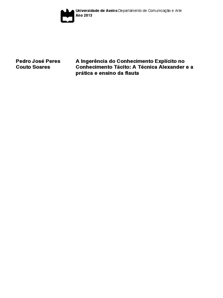 A tcnica alexanderpdf fandeluxe Image collections