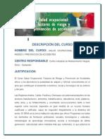 Descripción del Curso factores de riesgo seguridad industrial.doc