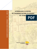 Gestion Patrimonio Ecuador