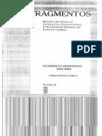 Fragmentos - Felisberto Hernández