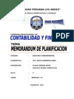 MEMORANDUM PLANIFICACION HUATUCO imp´rimirr
