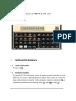 Apostila de HP 12 C