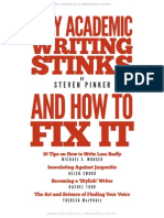 PINKER_et Al_Why Academic Writing Stinks and How to Fix It