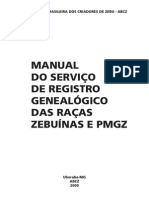 Manual Do Reg Genealogico e Pmgz