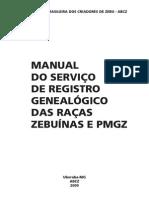 Manual Do Reg Genealogico e Pmgz