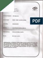 Denuncia a Juan Díaz antes la Fiscalia Superior de Yaracuy