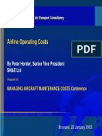 Airline Operating Costs SH&E