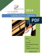 Tarea de Unidad legislación Laboral