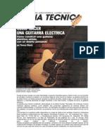 Como Hacer Una Guitarra Electrica