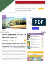 Finde Latercera Com 2014-11-20 Aire Libre Donde Veranear En