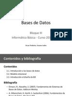 Tema 3 - Bases de Datos