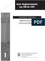 Regimen de Licencias y Sanciones Urbanísticas