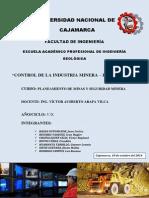 Monografia-control de La Industria Minera
