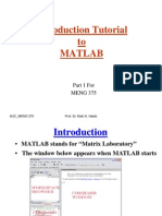 Matlab Tutorial_General Use