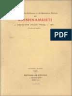 1934 - Auckland Jiddu Krishnamurti