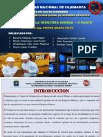 Control de La Industria Minera