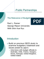 Private-Public Partnerships - Relevance of Budgeting