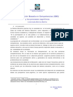 Educación Basada En Competencias y Los Procesos Cognitivos [29p]
