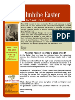 Easter 2012 Newsletter