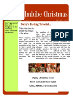Christmas 2010 Newsletter