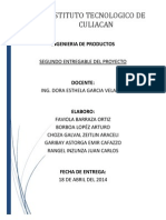 Ingenieria en Productos