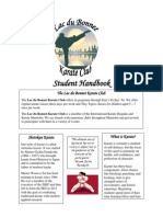 Lac du Bonnet Karate Club Handbook