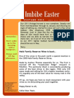 Easter 2011 Newsletter