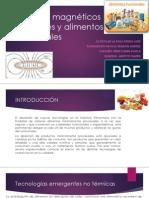 Campos Magnéticos Oscilantes y Alimentos Funcionales