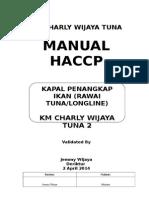 Manual Haccp Km Jimmy Wijaya 27