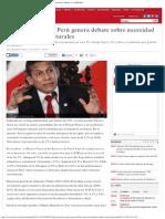 Desaceleración en Perú Genera Debate Sobre Necesidad de Reforma Estructurales _