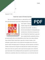 genre analysis pdf