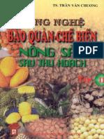 Cong Nghe Bao Quan Che Bien Nong San Sau Thu Hoach-TS. Tran Van Chuong-VRS