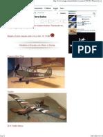 Planos de Aviones Madera Balsa