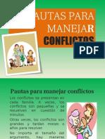 Pautas Para Manejar Conflictos