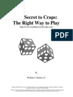 Secret to Craps Rev01