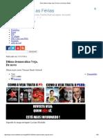 Dilma Desmoraliza Veja