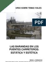 Las Barandas en Los Puentes Carreteros-estatica y Estetica.doc - Las Barandas en Los Puentes Carreteros