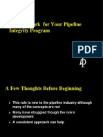 API 1160 Pipeline Integrity
