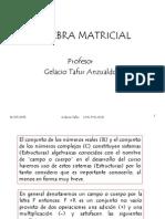 Algebra Matricial 01