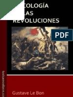 Gustave Le Bon Psicologia de Las Revolucion