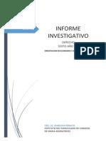 Pautas de Presentacion Del Informe Investigativo