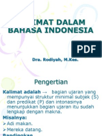 Kalimat Dalam Bahasa Indonesia