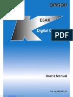 Control de Temperatura OMRON Modelo E5AK