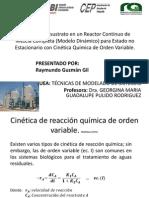 ejemplo cinética de reaccion de orden variable y reactor continuo de mezcla completa.pdf