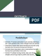 3. Ekstraksi