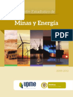Boletin Estad Minas Energy 2008 2012