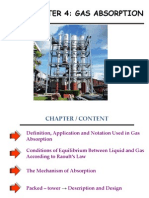 Chapter 4 - Gas Absorption